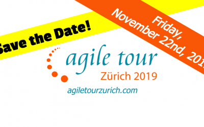 """""""By community for community"""" – how we organize the Agile Tour 2019 Zurich"""